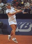 habshudova Удар слева двумя руками в большом теннисе