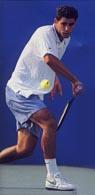 sampras06 Крученый удар слева одной рукой в большом теннисе
